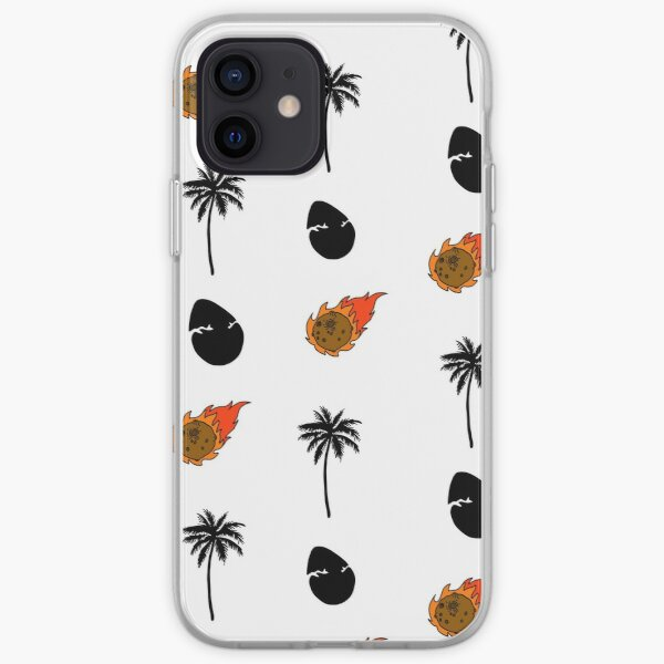 Dino Junction Pattern iPhone Soft Case