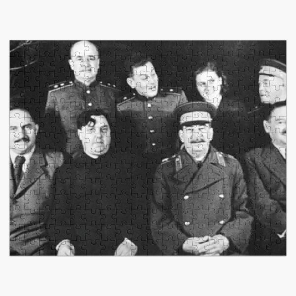 Stalin and Associates Jigsaw Puzzle
