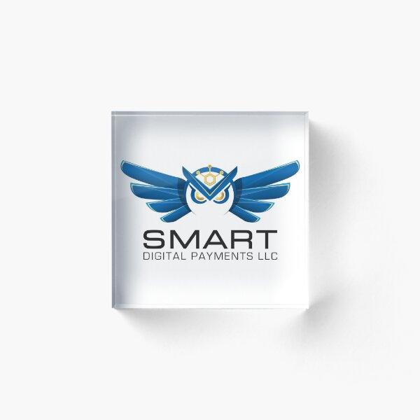 Smart Digital Payments Acrylic Block