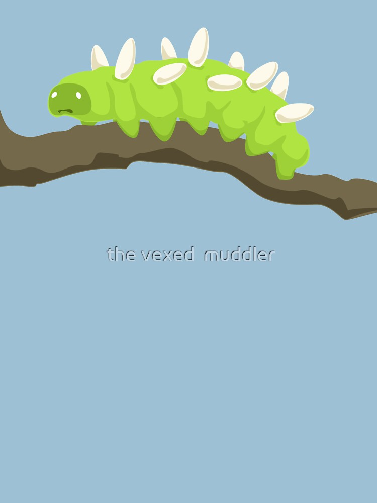 The Saddest Caterpillar by thevexedmuddler