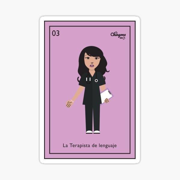 La Terapista de Lenguaje Sticker