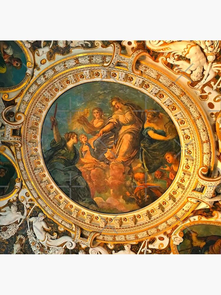 Vatican Ceiling Mural-Goddesses & Children by Matlgirl