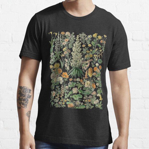 Vintage Inspired Flower Botanical Chart  Essential T-Shirt