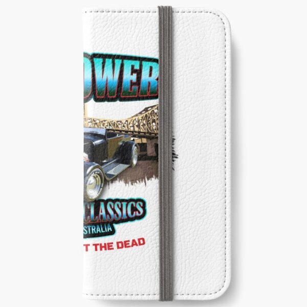 FIREPOWER CUSTOMS AND CLASSICS BRISBANE SOUVENIR iPhone Wallet