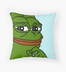 PEPE Throw Pillow
