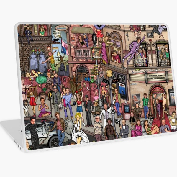 Movie stars Laptop Skin