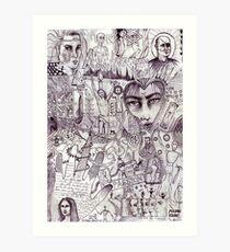 Israeli history Art Print