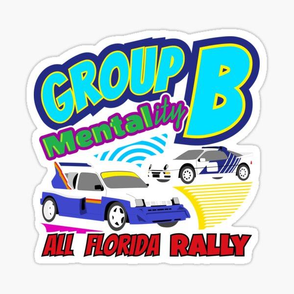 Group B MENTALity Sticker