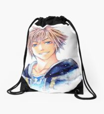 Happy Sora (Kingdom Hearts) Drawstring Bag
