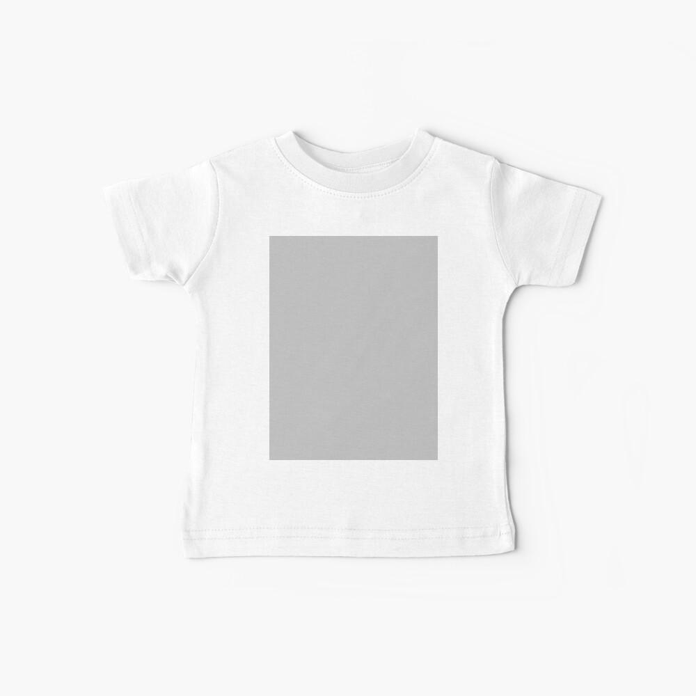 Beautiful Cushions/ Plain Silver Baby T-Shirt