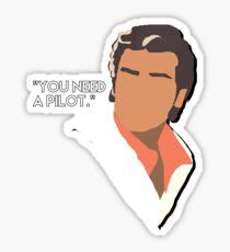 Poe Dameron  Sticker
