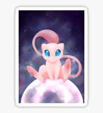 Bubble Kitten; Mew in space fanart Sticker