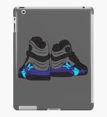 Aqua 8s iPad Case/Skin