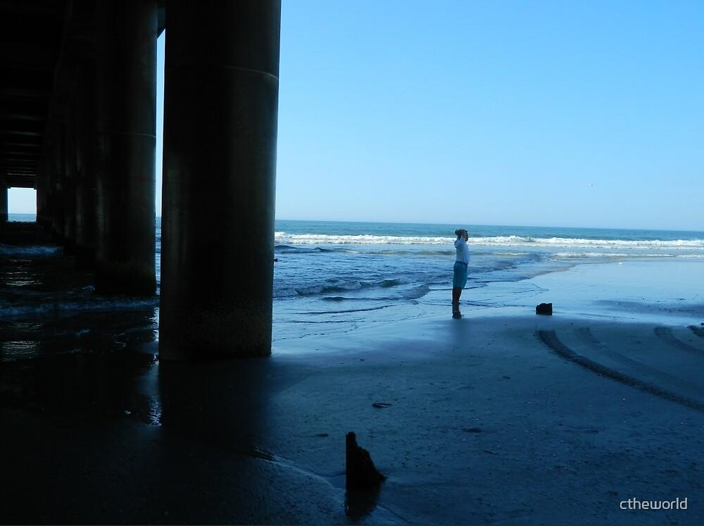 Morning Beach Stroll    ^ by ctheworld