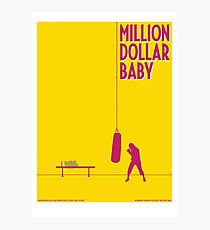 Million dollar baby Photographic Print