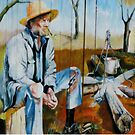 Once a jolly Swagman................ by Marilyn Harris