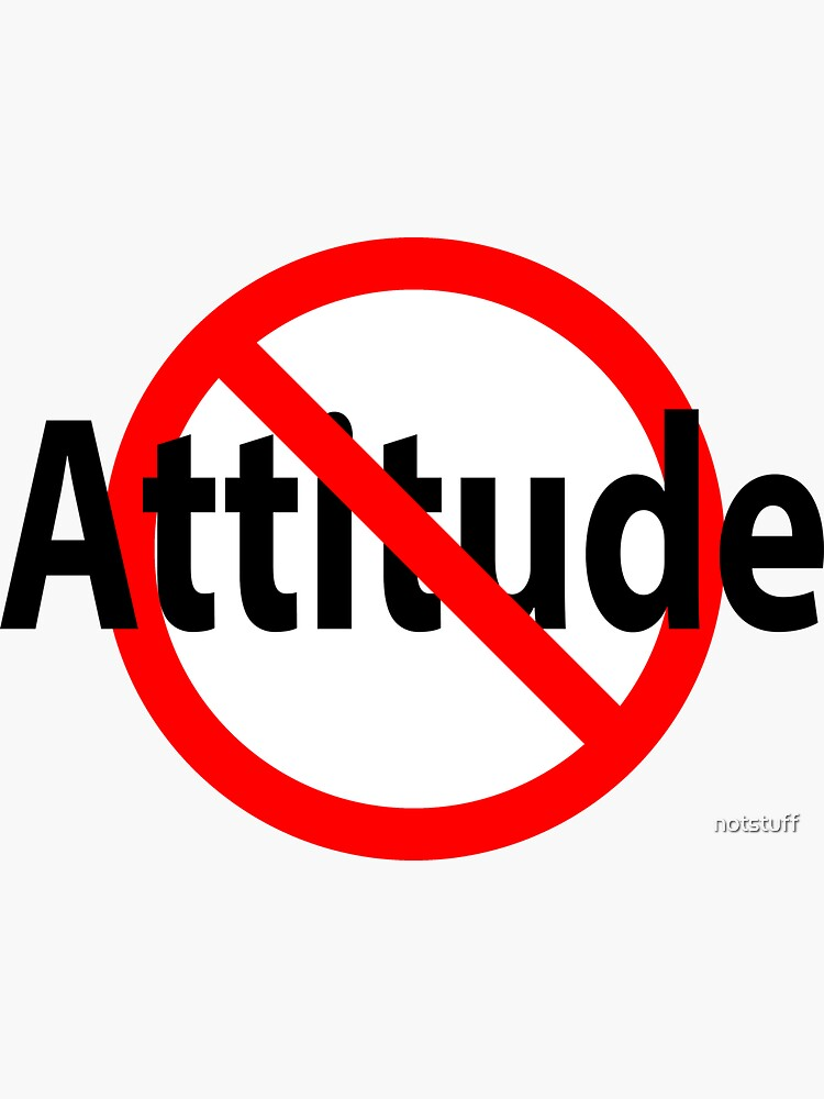 No Attitude - Open Mind by notstuff