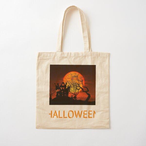 Halloween day design Cotton Tote Bag