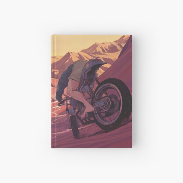 Strange Sunset Hardcover Journal