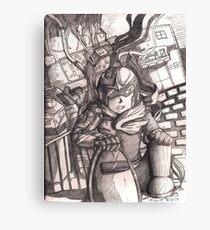 Dusty Protoman Canvas Print