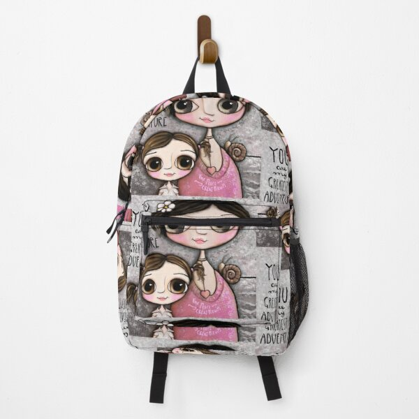 Mother and daughter Backpack