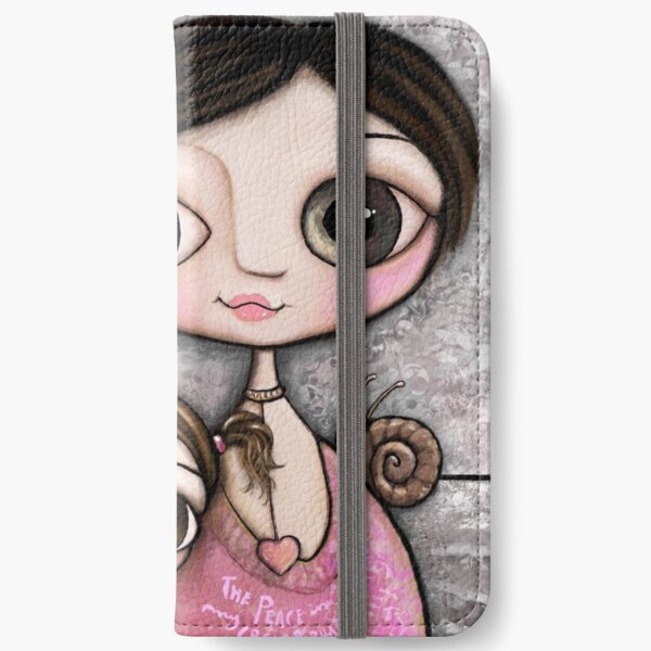 Mother and daughter iPhone Wallet