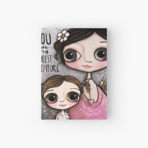 Mother and daughter Hardcover Journal