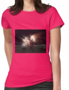 Myrtle Fireworks Womens Fitted T-Shirt