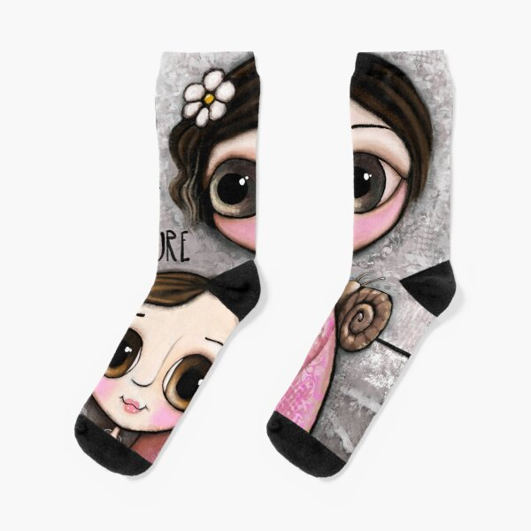 Mother and daughter Socks