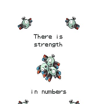 Pokemon - Magneton - Pokemon by Juaco