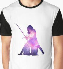 Star Wars Kylo Ren Galaxy Graphic T-Shirt