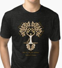 Tree of the Enlightened Tri-blend T-Shirt