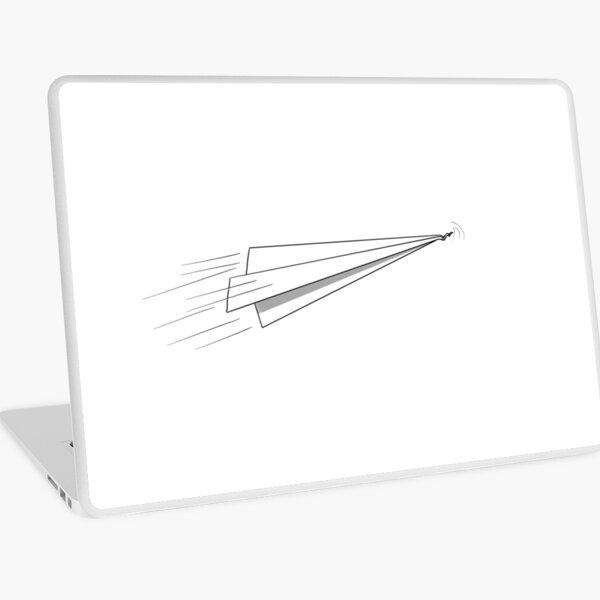 Paper Plane Laptop Skin