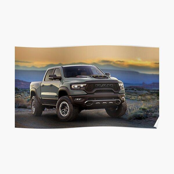 Dodge Ram 1500 TRX Poster