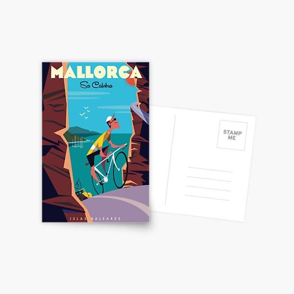 Sa Calobra poster Postcard