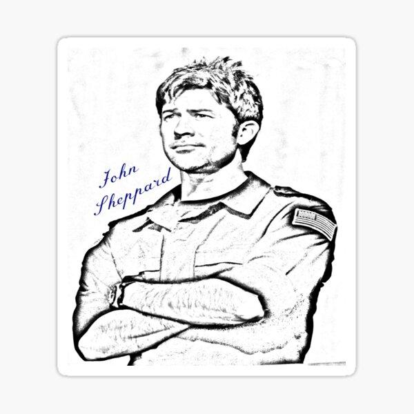 John Sheppard  Sticker