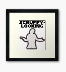 Who's Scruffy Looking? Framed Print