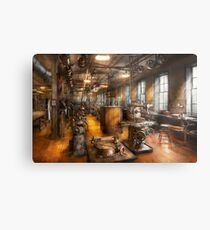 Machinist - Industrious Society Metal Print
