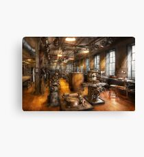 Machinist - Industrious Society Canvas Print