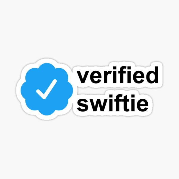 verified swifite  Sticker