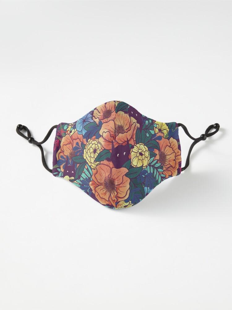 Alternate view of Wild Flowers Mask