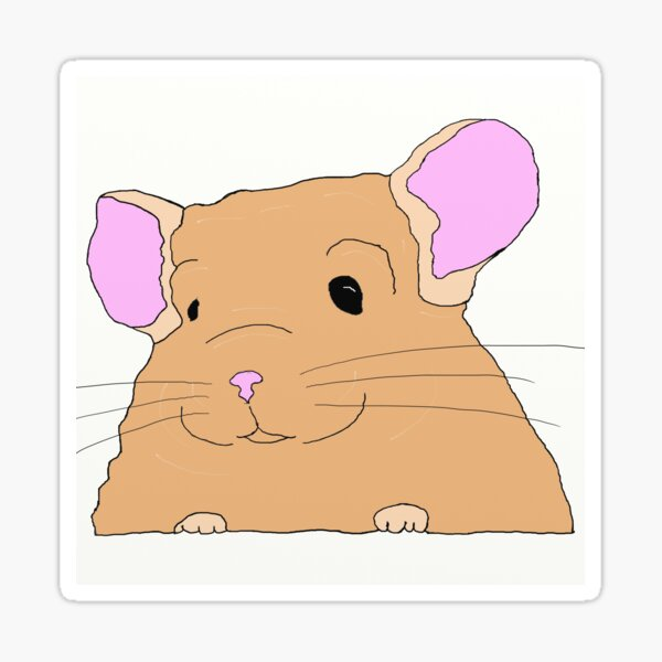 Chinchilla cuteness overload Sticker