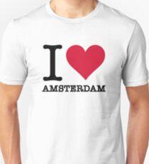 I love Amsterdam Unisex T-Shirt