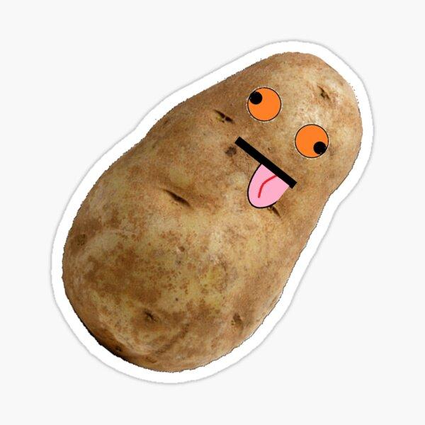 Couch Potato Sticker