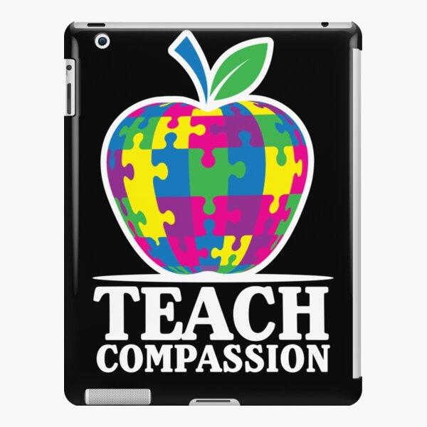 Teach Compassion Autism Awareness Educator iPad Snap Case