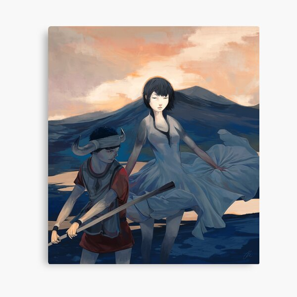 Ico and Yorda Canvas Print