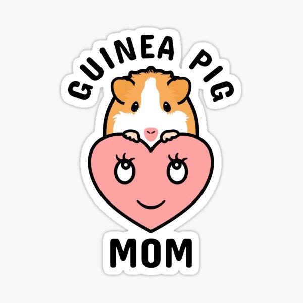 Guinea Pig Mom  Sticker