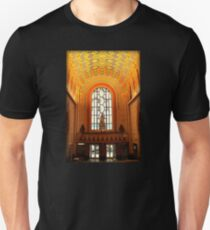 Lobby Of Guardian Building In Detroit At Christmas Unisex T-Shirt