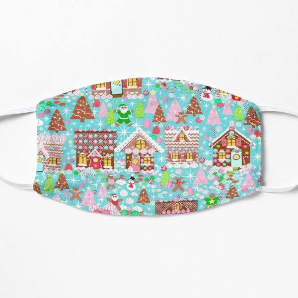 Christmas Gingerbread House, Holiday Village Small Mask