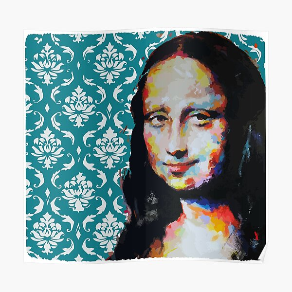 Mona Lisa (La Joconde) Poster
